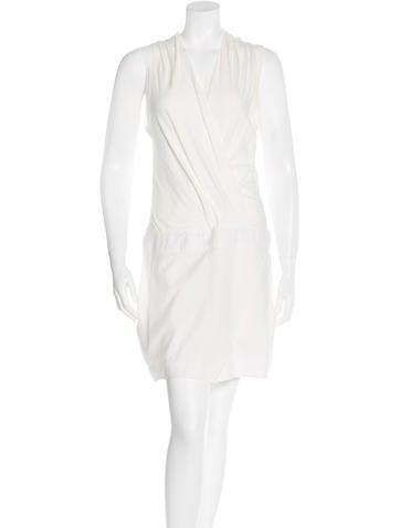 Brunello Cucinelli Draped Sleeveless Dress None
