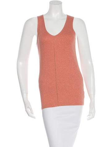 Brunello Cucinelli Monili-Accented Rib Knit Top None