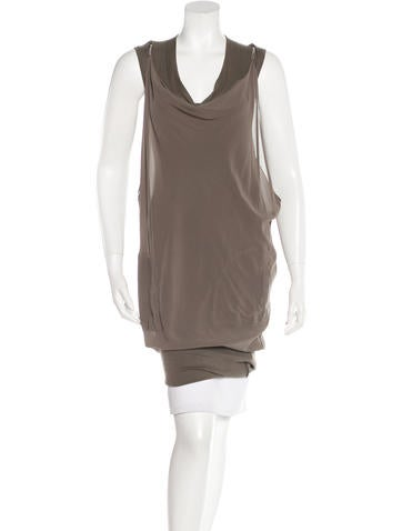 Brunello Cucinelli Monili-Accented Mini Dress None