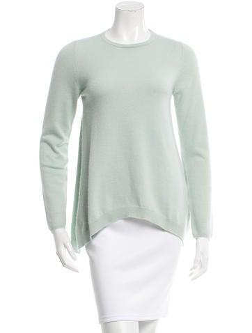 Brunello Cucinelli Asymmetrical Cashmere Top None