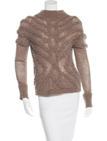 Brunello Cucinelli Cashmere Embellished Sweater
