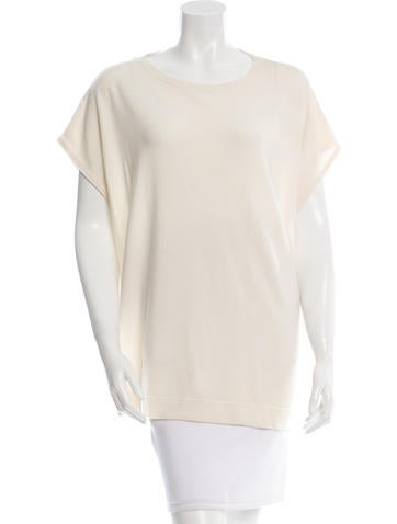 Brunello Cucinelli Cashmere Cutout Top w/ Tags None