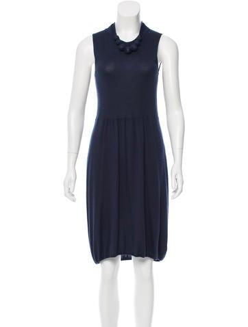 Brunello Cucinelli Cashmere Sleeveless Dress None