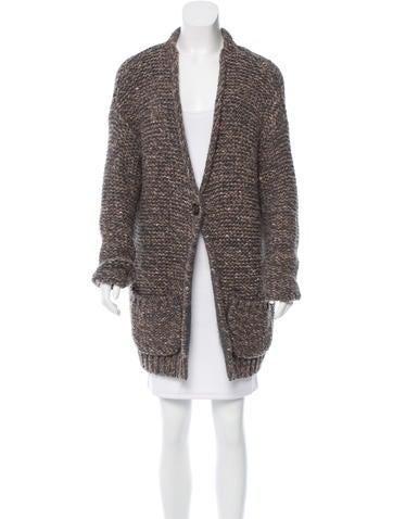Brunello Cucinelli Cashmere & Virgin Wool-Blend Cardigan None