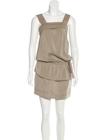 Brunello Cucinelli Sleeveless Mini Dress None
