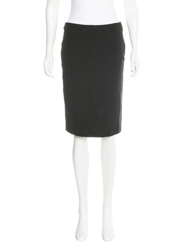 Brunello Cucinelli Knee-Length Pencil Skirt
