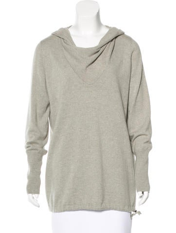 Brunello Cucinelli Monili-Trimmed Cashmere Sweater None