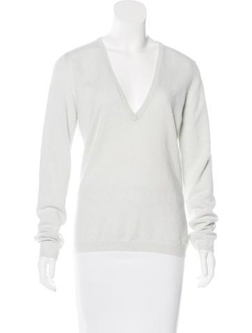 Brunello Cucinelli V-Neck Cashmere Sweater w/ Tags None