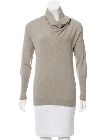 Brunello Cucinelli Cashmere Cowl Neck Sweater None