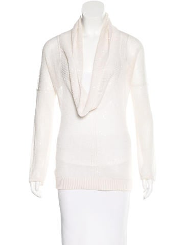 Brunello Cucinelli Embellished Rib Knit Sweater None