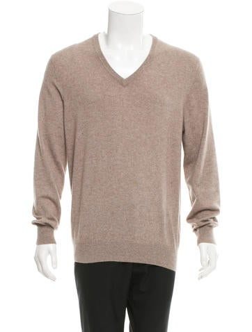 Brunello Cucinelli V-Neck Cashmere Sweater None