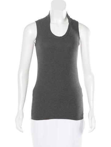 Brunello Cucinelli Monili Sleeveless Top None