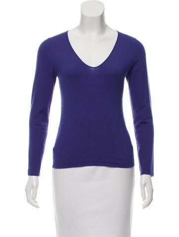 Brunello Cucinelli Cashmere V-Neck Sweater None