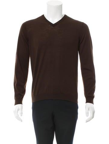 Brunello Cucinelli Wool V-Neck Sweater None