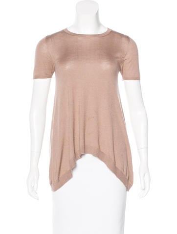 Brunello Cucinelli Cashmere & Silk Top None