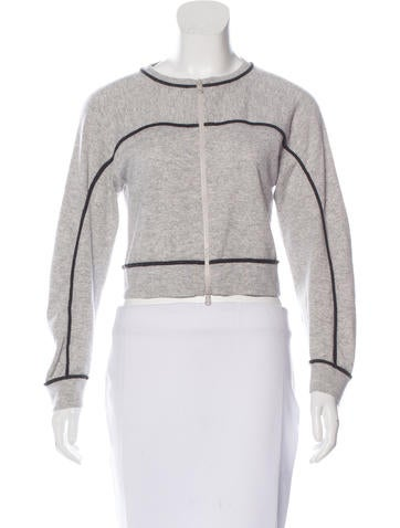 Brunello Cucinelli Cashmere Zip-Up Sweater None