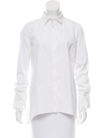Brunello Cucinelli Long Sleeve Button-Up Top None
