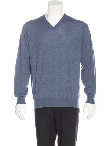Brunello Cucinelli Wool V-Neck Sweater None