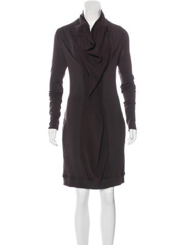 Brunello Cucinelli Virgin Wool & Silk Dress None