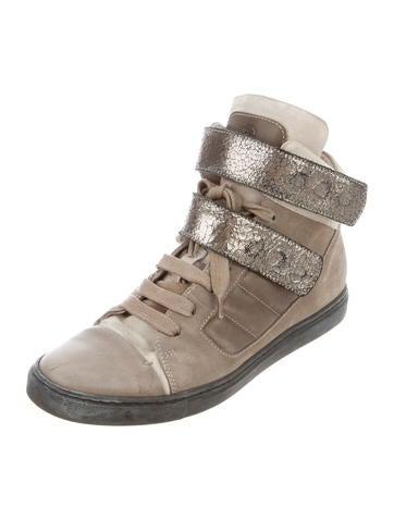 Suede Cap-Toe Sneakers