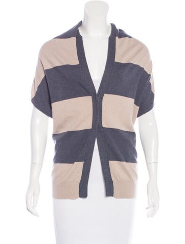 Brunello Cucinelli Backless Cashmere Cardigan w/ Tags None