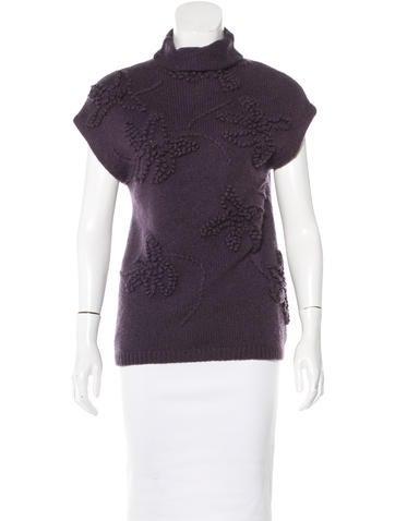 Brunello Cucinelli Cashmere Short Sleeve Sweater None