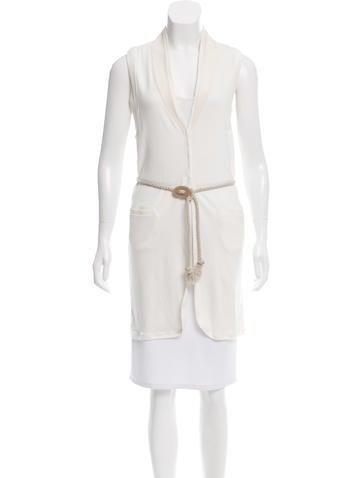 Brunello Cucinelli Sleeveless Knit Cardigan None