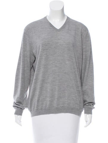 Brunello Cucinelli Wool Long Sleeve Sweater None