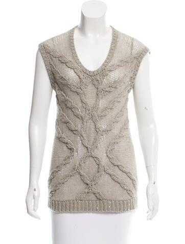 Brunello Cucinelli Cable Knit Cashmere Sweater None