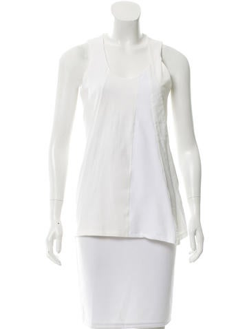 Brunello Cucinelli Sleeveless Lightweight Top w/ Tags None