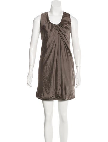 Brunello Cucinelli Silk Mini Dress None