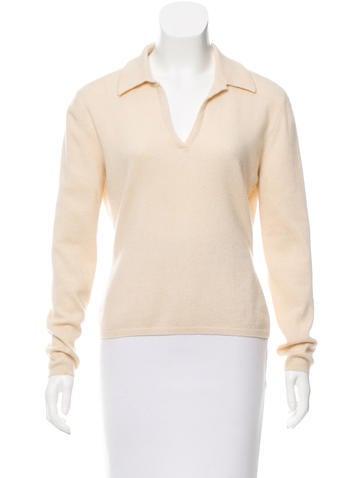 Brunello Cucinelli Cashmere Long Sleeve Top None