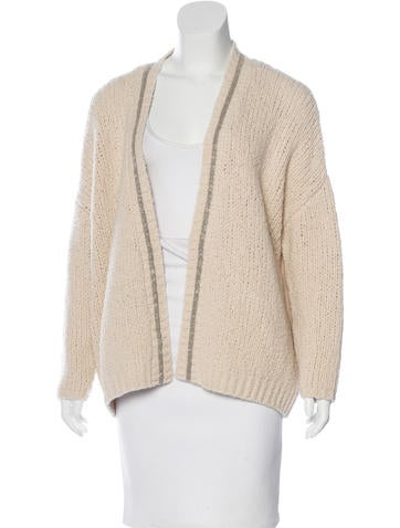 Brunello Cucinelli Monili-Embellished Wool Cardigan None