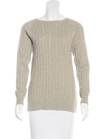 Brunello Cucinelli Cashmere Cable Knit Sweater None