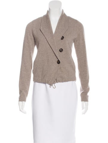 Brunello Cucinelli Cashmere Long Sleeve Cardigan None