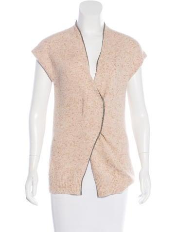 Brunello Cucinelli Monili Cashmere Sweater None