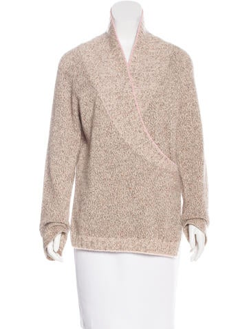 Brunello Cucinelli Cashmere Shawl Collar Sweater None