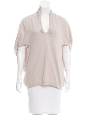 Brunello Cucinelli Knit Short Sleeve Top None