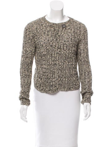Brunello Cucinelli Embellished Rib Knit Cardigan None