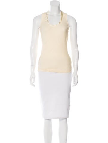 Brunello Cucinelli Paneled Sleeveless Top None