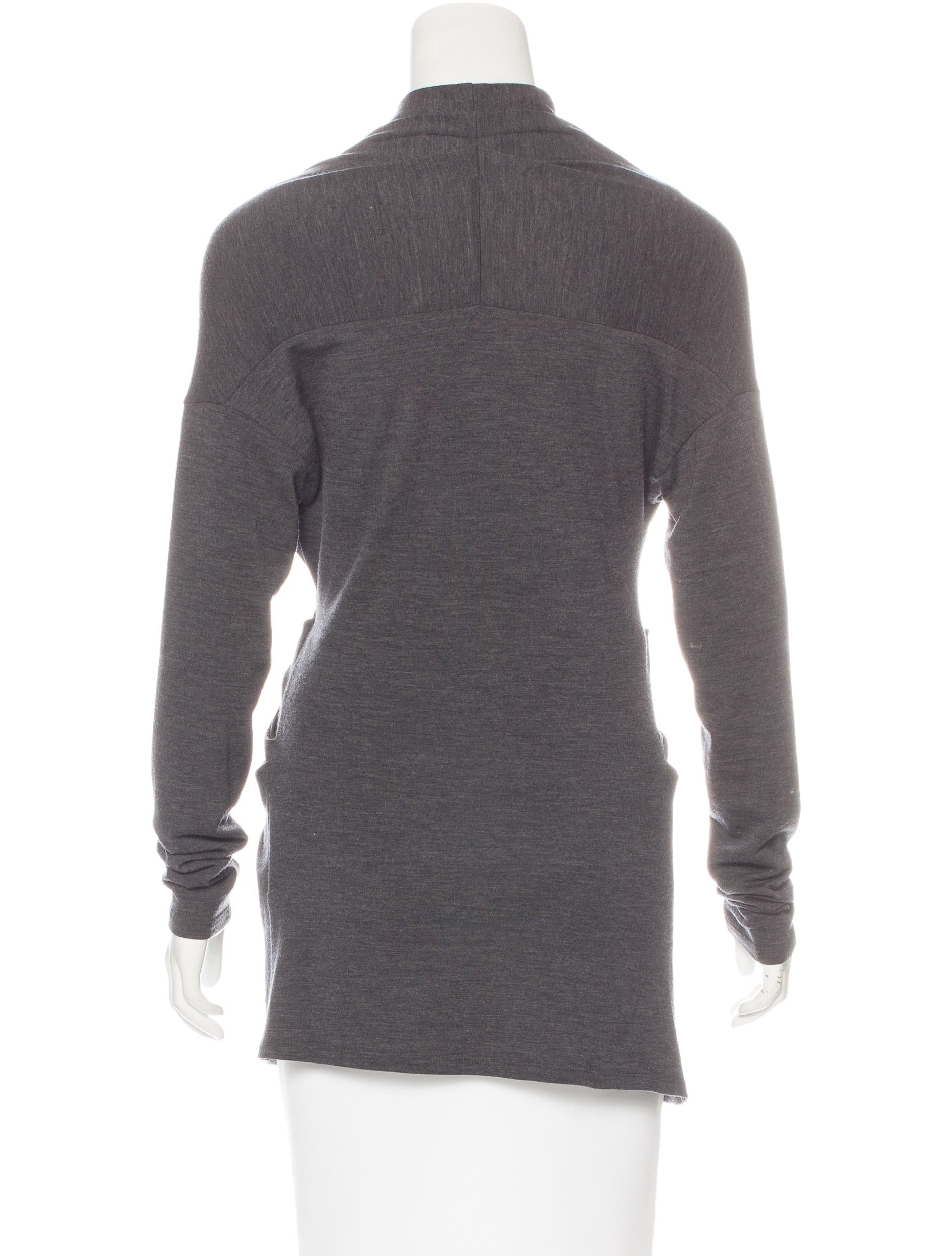 Brunello cucinelli wool gathered top clothing bru42471 for Best wool shirt jackets
