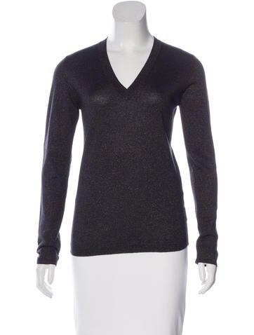 Brunello Cucinelli Cashmere and Silk-Blend Sweater w/ Tags None