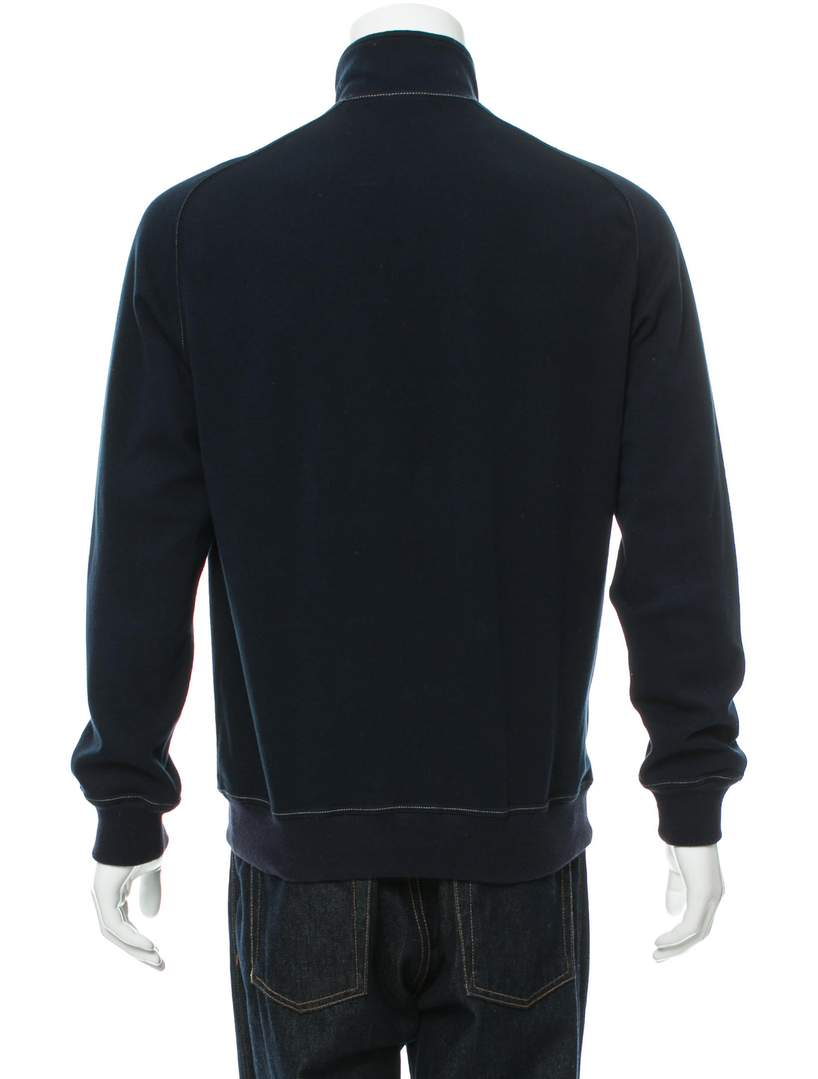 brunello cucinelli half zip pullover sweatshirt clothing. Black Bedroom Furniture Sets. Home Design Ideas