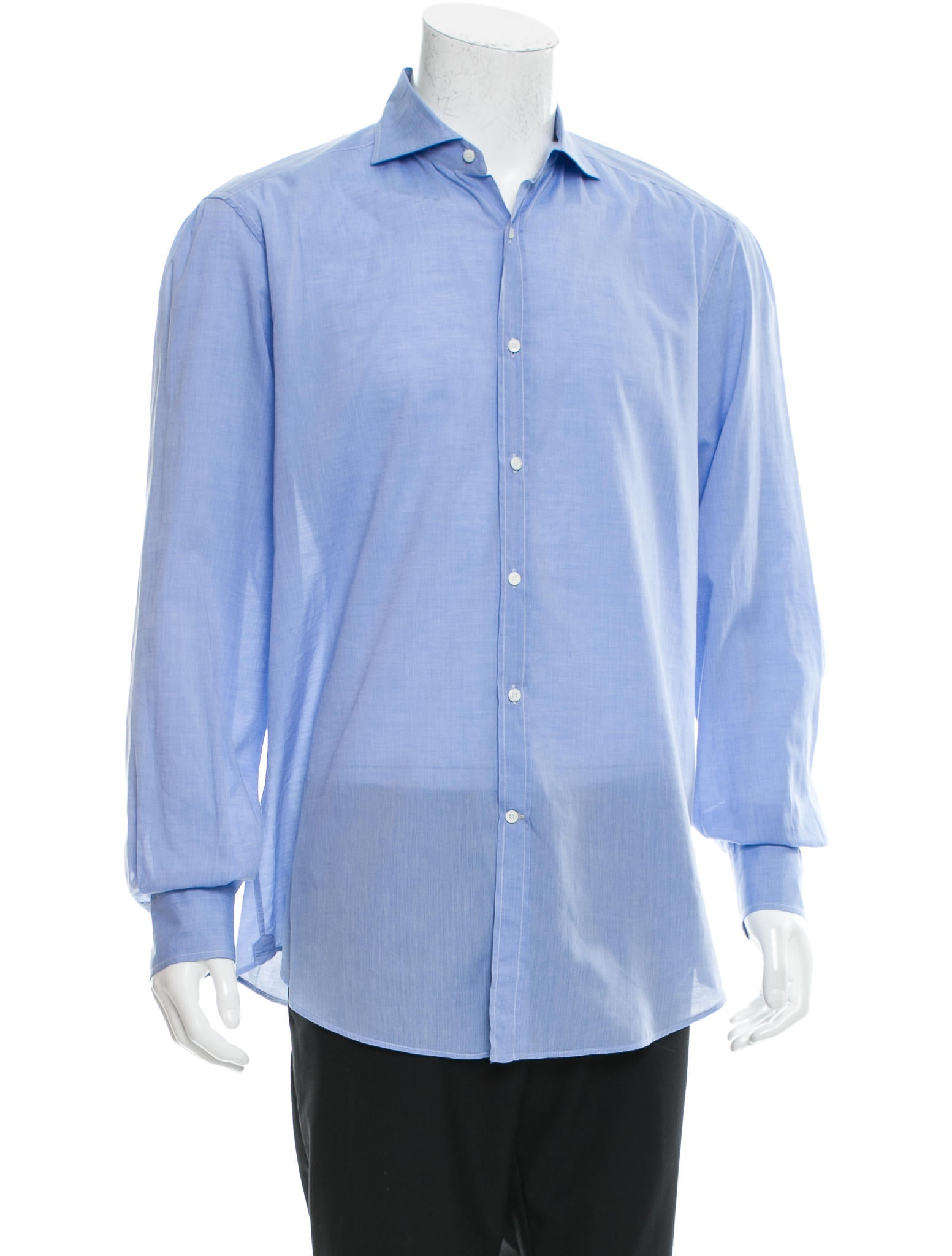 Brunello Cucinelli Long Sleeve Button Up Shirt Clothing