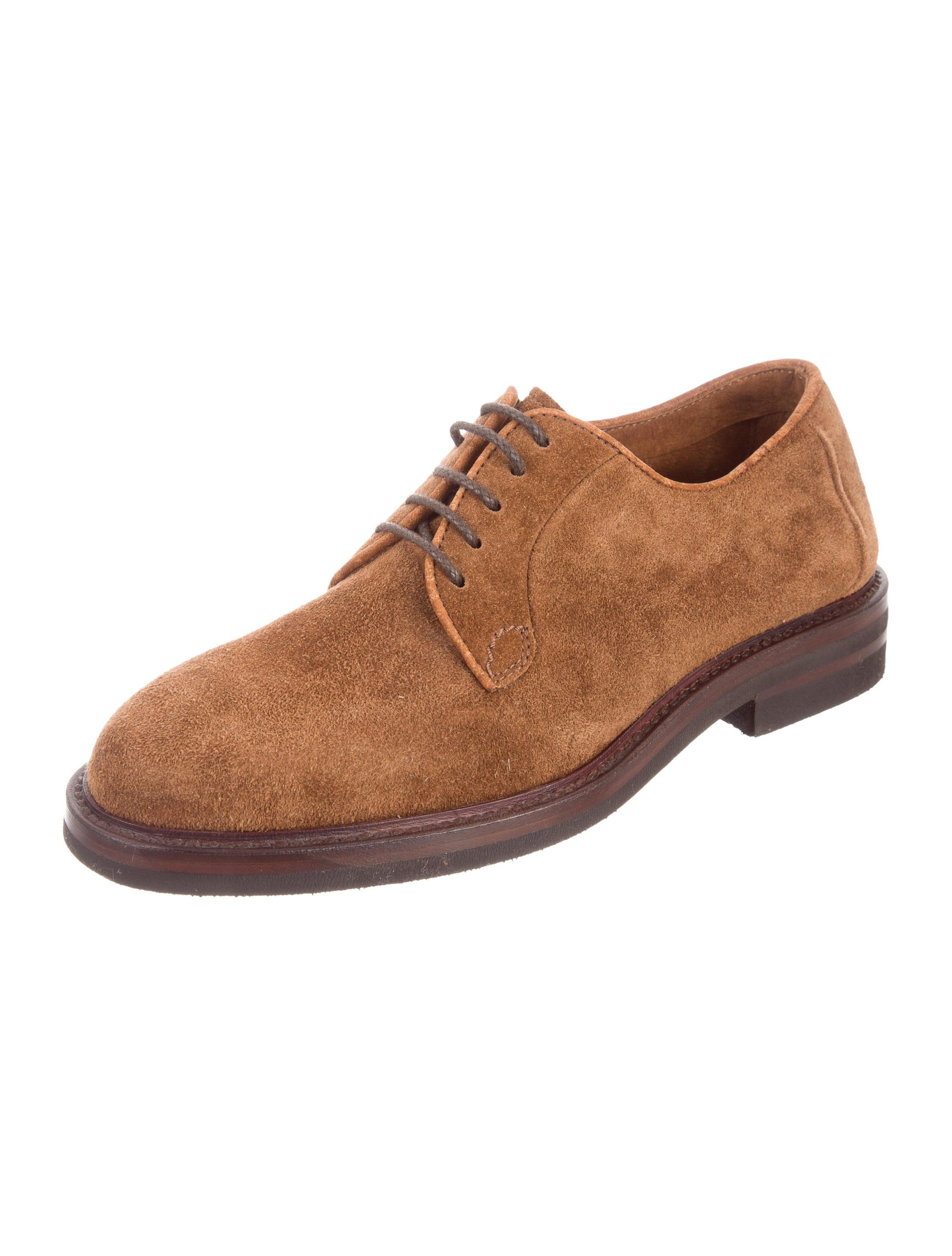 Derby Shoes Suede Men