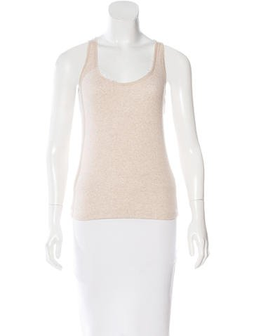 Brunello Cucinelli Rib Knit Sleeveless Top None