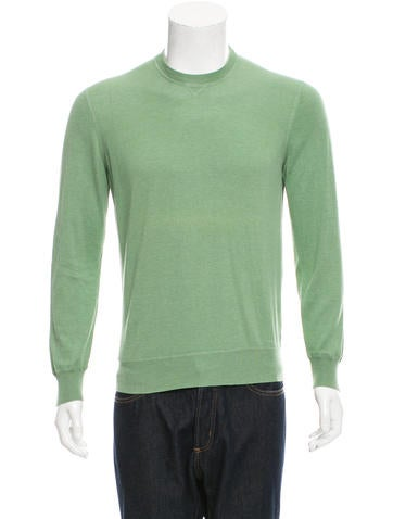 Brunello Cucinelli Crew Neck Long Sleeve Sweater