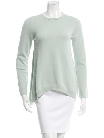 Brunello Cucinelli Asymmetrical Cashmere Top None