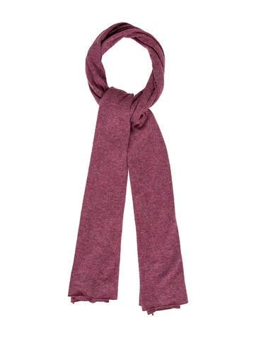 Brunello Cucinelli Knit Cashmere Scarf None