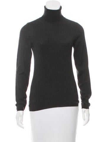 Brunello Cucinelli Cashmere Mélange Turtleneck None